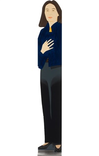 standing ada, 187 by alex katz