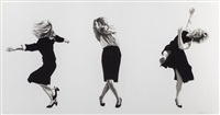 dancing trio ii by robert longo