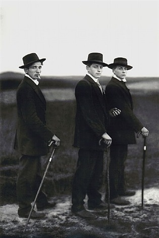young farmers by august sander