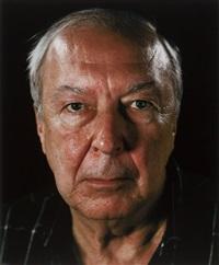portrait of jasper johns by chuck close