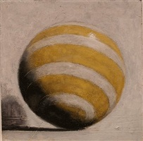 yellow and white with shadow by john gibson