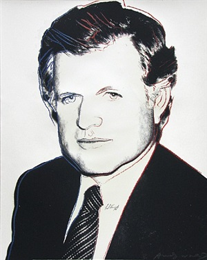 ted kennedy by andy warhol