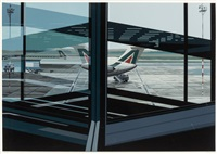 airport (from urban landscapes iii) by richard estes