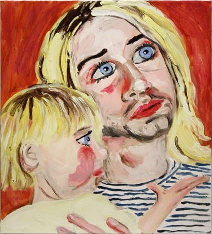 kurt and frances bean by stella vine