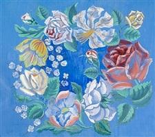 guirlande de fleurs by raoul dufy