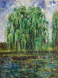 weeping willow, saint bruno by samir sammoun