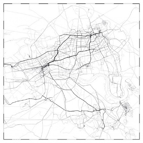 london gps map by jeremy wood