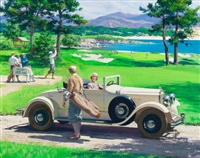 golf chrysler imperial roadster, great moments in early american motoring by harry anderson