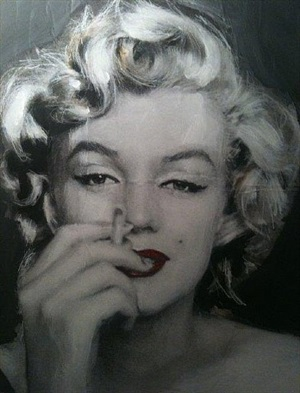 marilyn cigarette ii by sami akl