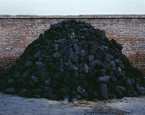 city hiding no.95 by liu bolin