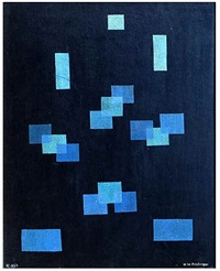 black and blue by oskar fischinger