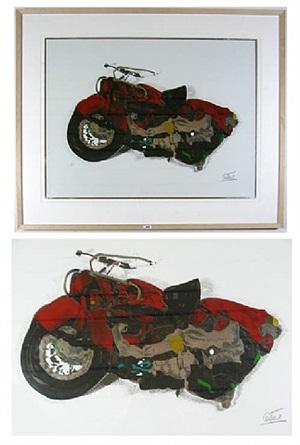 ohne titel (motorrad) by césar