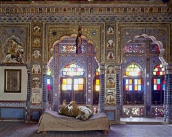 the joy of ahimsa, takhat vilas, jodhpur by karen knorr