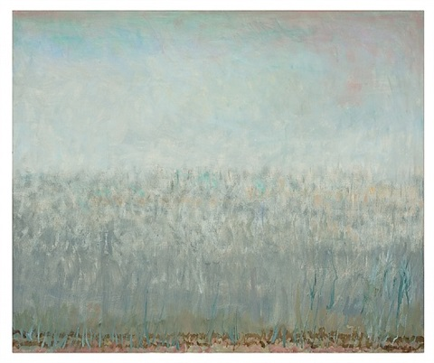 reeds in fog by jane wilson