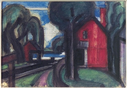 jane wilson recent paintingsalso on view modern american 1917-1944 by oscar florianus bluemner