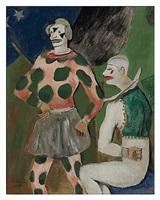 clowns by walt kuhn