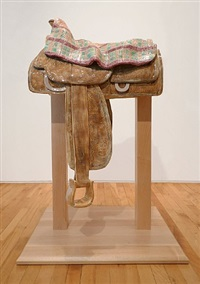 blanket saddle by deborah butterfield