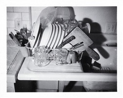 no title (dishrack and sink) by robert therrien
