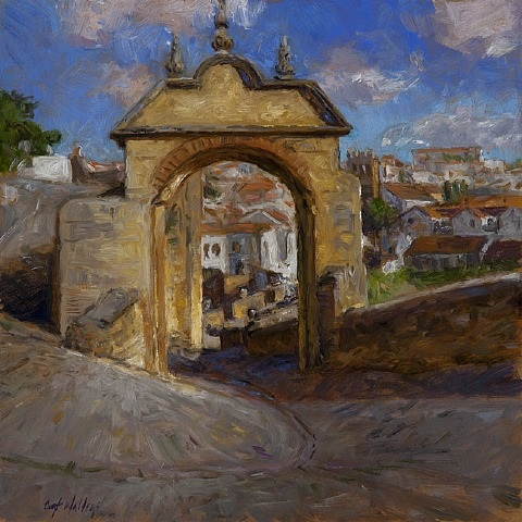 gate of philip v, ronda by curt walters