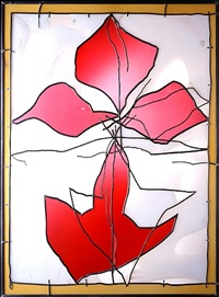 gold rose (fleur de lys) by brian clarke