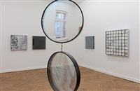 rhythmus und materie (installation view) by adolf luther