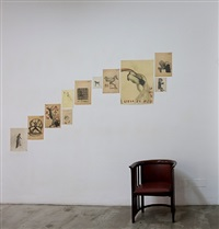 installation view: ondinas/ondines, palma by sandra vásquez de la horra