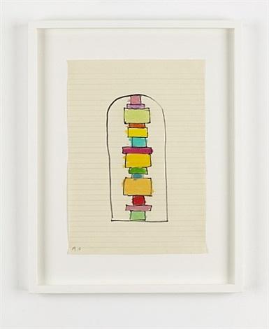 niche drawing by david batchelor