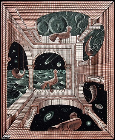 another world (another world) by m. c. escher