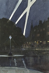 a london nocturne by edward john burrow