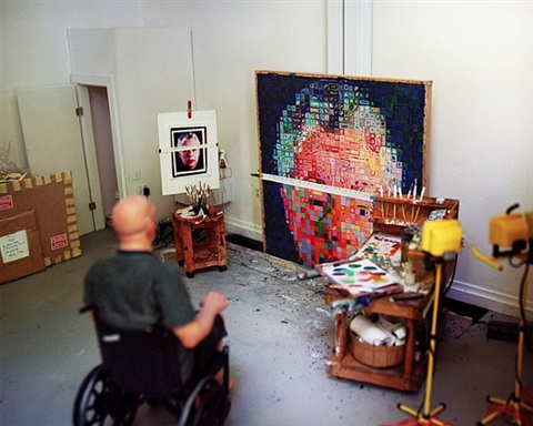 chuck close summer by joe fig