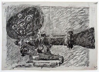 camera (central boiler station) by william kentridge