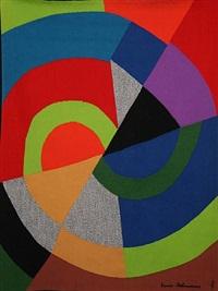 diagonale by sonia delaunay-terk