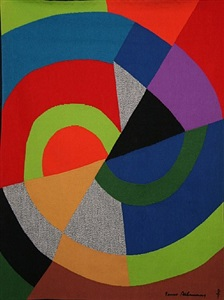women art supporting ovarian cancer action by sonia delaunay-terk