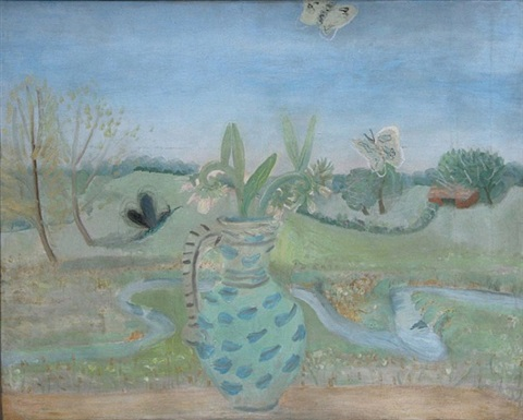meadow comfrey by winifred nicholson