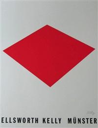 red floor panel / münster by ellsworth kelly