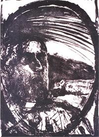 hombre del penacho by francisco corzas