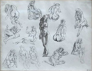 untitled by reginald marsh