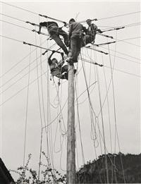 utility pole #mw 104 by arnold odermatt