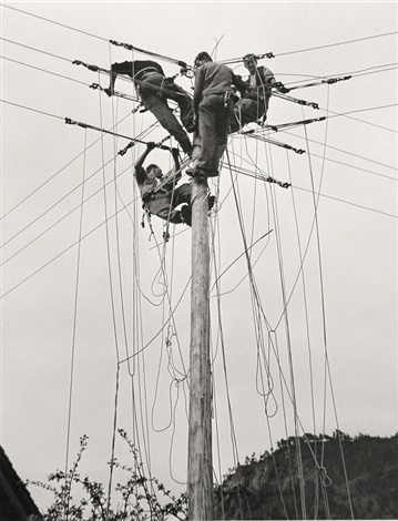 utility pole mw 104 by arnold odermatt