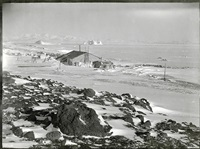 s20 view of cape evans from the ramp, cape evans, oct 1911 by robert falcon scott
