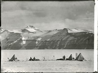 s35 camp under the wild mountains, beardmore glacier, 20 dec 1911 by robert falcon scott