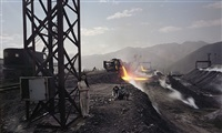 third front series - outdoor steel plant by chen jiagang