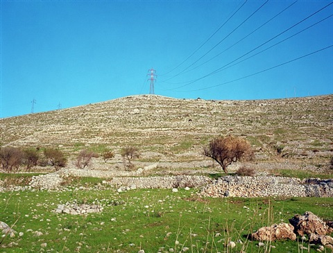 hillside near ragusa by jeff wall