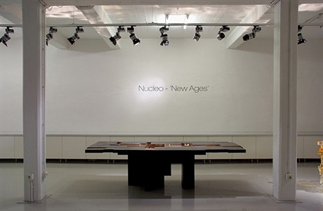 exhibition view<br>nucleo: new ages