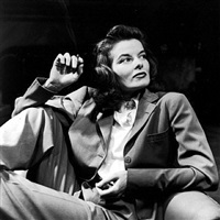 katharine hepburn, new york city by alfred eisenstaedt