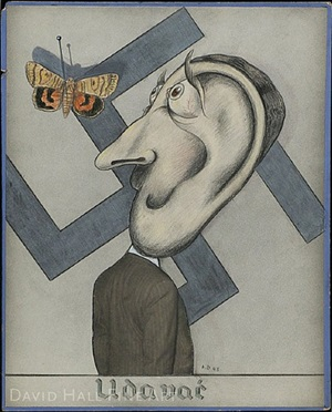 udavai (hitler and butterfly) by hannes beckmann