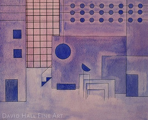stage design from dessau period by hannes beckmann