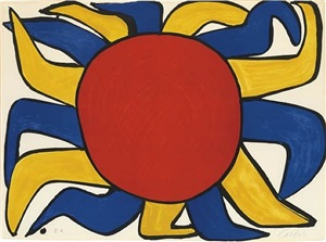 "sun (from ""our unfinished revolution"") by alexander calder"