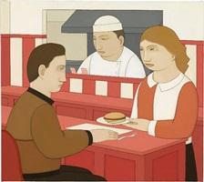 hamburger at rosie's by andrew stevovich