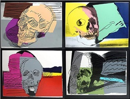 skulls by andy warhol